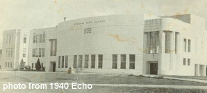 bldg.photo from 1940 Echo